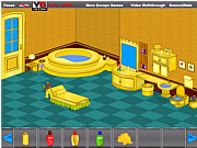 Игра Золотая ванная комната. Освобождение