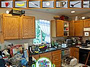 Игра Бардак на кухне. Поиск предметов