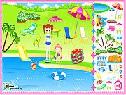 Игра Дизайн пляжа