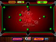 Игра Красный бильярд дьявола