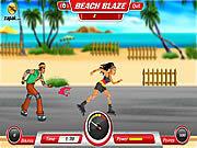 Игра Ролики на Пляже