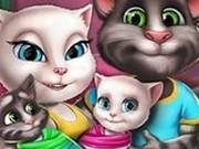 Игра Семья Анджелы: День Близнецов